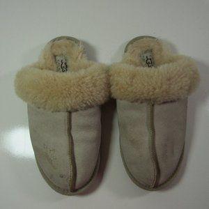 Ugg Australia Scuffette Slippers Fur Leather Slide